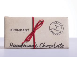 Mαύρη σοκολάτα Chilli & Sitchuan, 80γ